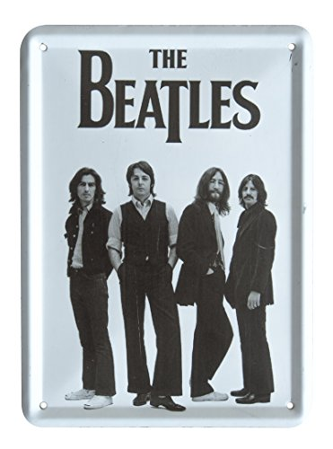 The Beatles IN STEREO VINYL BOX SET Metal Sign Steel Small Fridge Magnet (8cm x 11cm) by Parcelstore