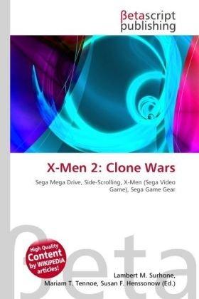 X-Men 2: Clone Wars: Sega Mega Drive, Side-Scrolling, X-Men (Sega Video Game), Sega Game Gear