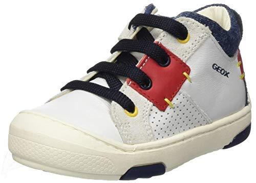 Geox Baby-Jungen B JAYJ Boy B Sneaker, Weiß (White C1000), 23 EU