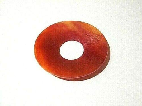 Gaide und Petersen Tropfenfänger Tropfschutz aus Glas Tiffany Line rot Wachsfänger Kerzenmanschette 12005