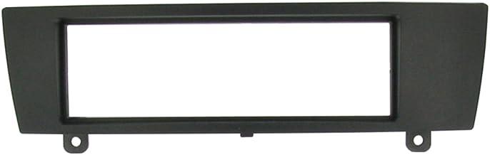 Connects2 - Marco para radio para BMW 1 E87 3 Series E90/E91, color negro