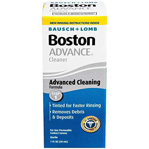 Contact Lens Solution by Boston Advance, for Gas Permeable Contact Lenses, 1 Fl Oz