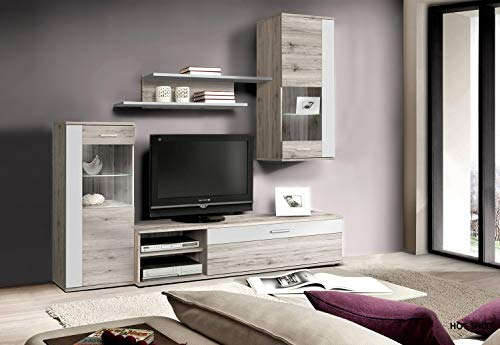 meuble tv complet cdiscount