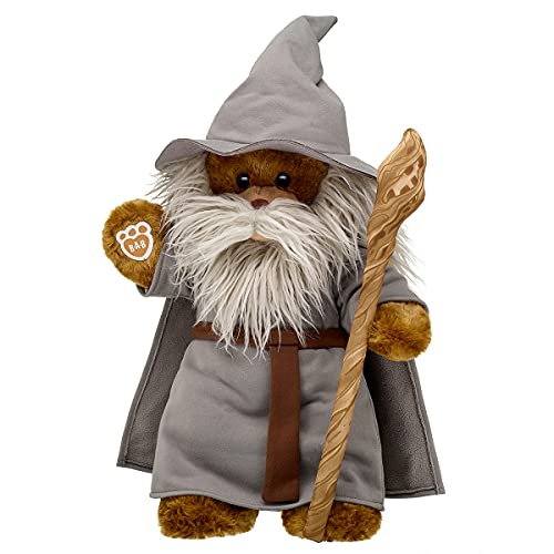 Build A Bear Workshop Online Exclusive Lord of The Rings Bear Gandalf Gift Set