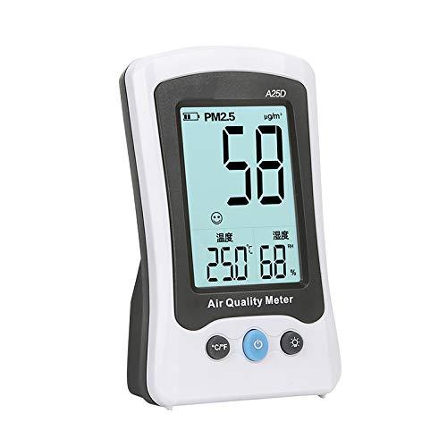 CHENG Calidad del Aire En El Monitor del Formaldehído, De Alta Precisa Detector De Calidad del Aire PM2.5 Medición Medidores De Detector para Usos De Interior Inicio