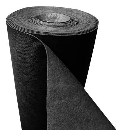 Fieltro de alta resistencia para protección contra malas hierbas, 150g/m², 25m x 1,0m x 1,3mm