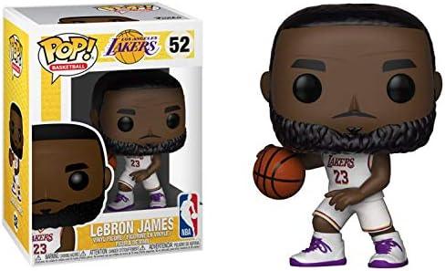 Funko POP NBA: Lakers - Lebron James (White Uniform)