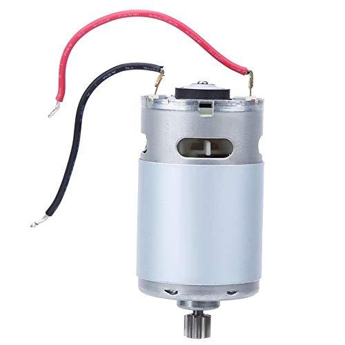 Motor 1000 U/min, 9 Zähne, AC, kleiner Elektromotor für elektrische Bohrmaschine (9,6 V)