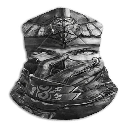 Custom made Mythical Yin Yang Dragon Tiger Wolf Phoenix - Bragueta elástica para cuello de microfibra para hombres y mujeres, para la cara, para la mitad de la máscara, bufanda, bandana para la cabeza