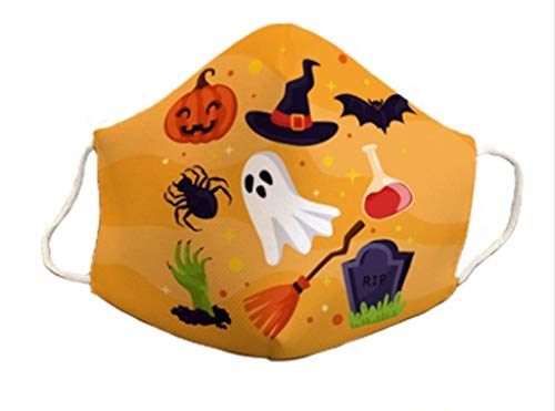 Mascarillas protectora homologada halloween 3 capas original diseño fantasma