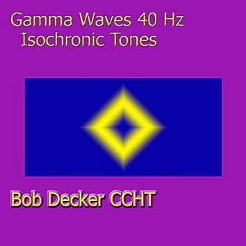 Gamma Waves 40 Hz Isochronic Tones
