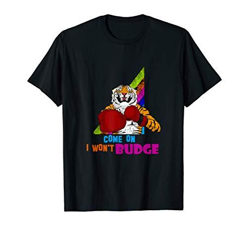 Cooler Tiger beim Boxen mit Mundschutz & Bandagen Geschenk T-Shirt