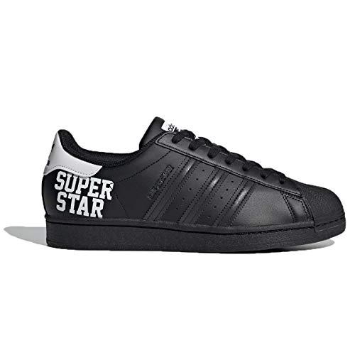 Adidas Superstar White Crystal White White White, Negro , 42 EU