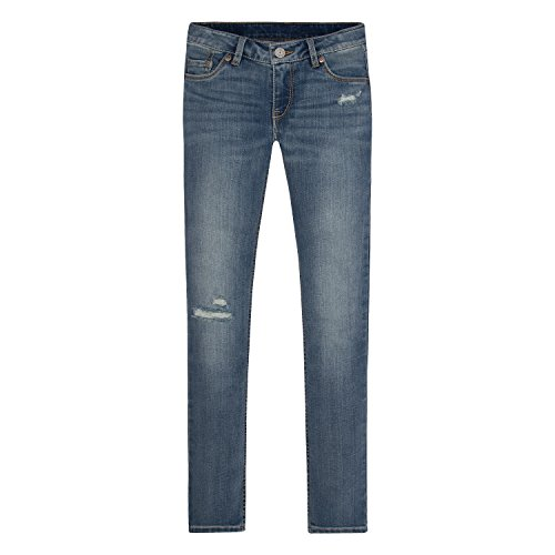 Levi's Girls' 711 Skinny Fit Jeans , Vintage Waters, 10