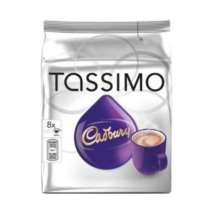 Tassimo Cadbury Heiße Schokolade, 16 T-Scheiben (8 Portionen)