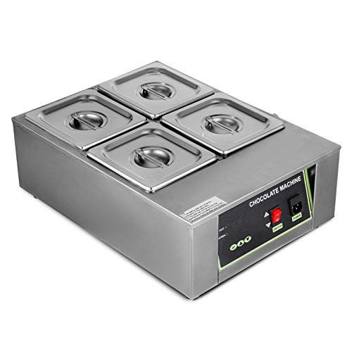 NC LKWK Máquina eléctrica para fundir Chocolate, Capacidad de 4 Tanques, Calentador...