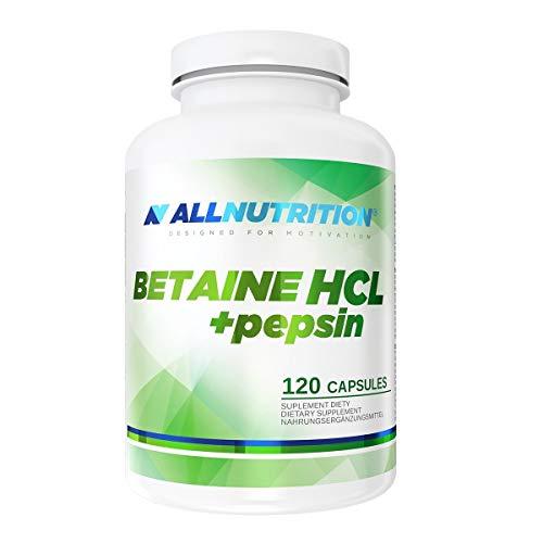 Allnutrition Betaine HCL + Pepsin, 120 Caps