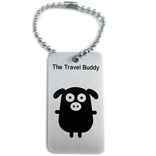 geo-versand TravelBuddy Pig - Schwein Travel Tag Trackingnummer Coin, TB Travelbug, Trackable Groundspeak