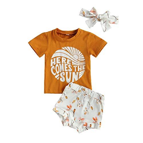 Infant Baby Girl Summer Shorts O...