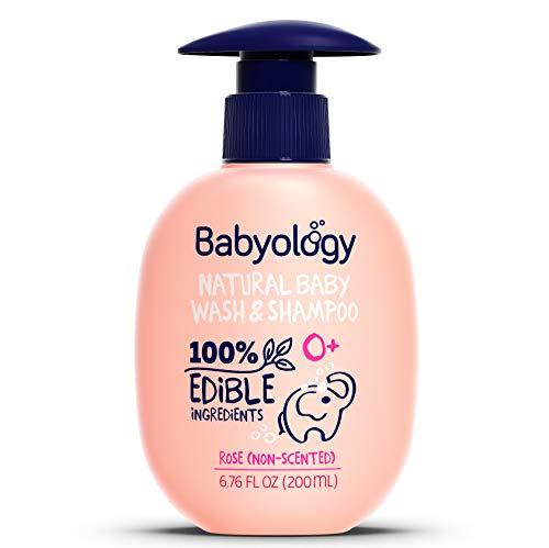 Nature's Baby Organics Shampoo & Body Wash, Coconut Pineapple, Cruelty Free, Gentle on Skin, 16 oz