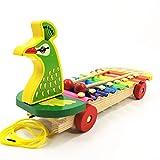 All'inizio Melody xilofono di Legno del Martello g Xilofono di Legno Misto Piano Instruments Bambino educativo Musicale Music Baby Mini Musicisti Giocattoli Battere Giocattoli Musicali