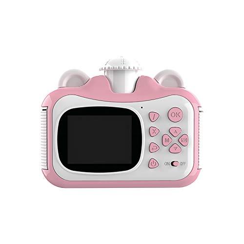 Kamera Kinderkamera Kinder Digitalkamera Kinder Druckkamera HD Digital SLR Mini Spielzeug Videokamera Kinder Druckkamera + Lanyard 1 x Ladekabel 3 Rollen x Druckpapier