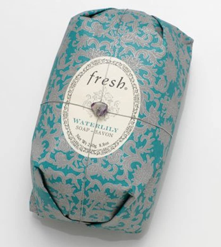 透過性政策ビジネスFresh WATERLILY SOAP (フレッシュ ウオーターリリー ソープ) 8.8 oz (250g) Soap (石鹸) by Fresh