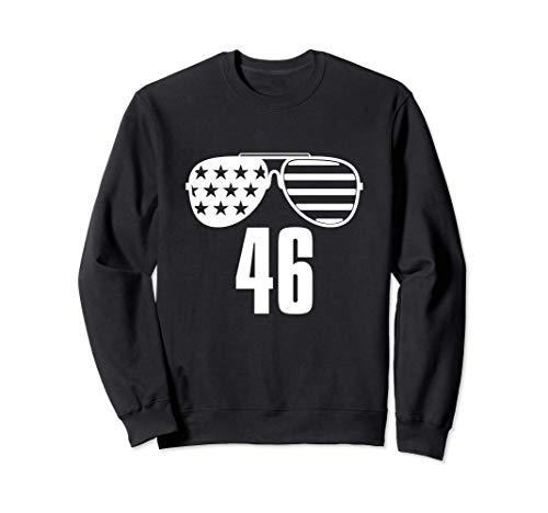 46 Biden 46a gafas de sol de la bandera estadounidense Joe Sudadera