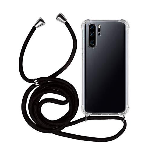 MyGadget Funda Transparente Cordón Huawei P30 Pro