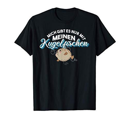 Aquaristik Aquarium Meeresfisch Kugelfisch T-Shirt
