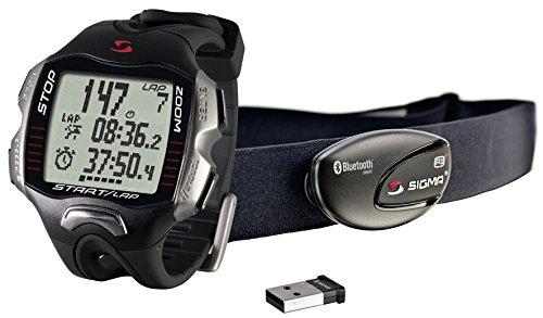 Sigma Sport Unisex-Erwachsene Pulscomputer Running Computer Rc Move Basic Laufuhr, Black, Standard