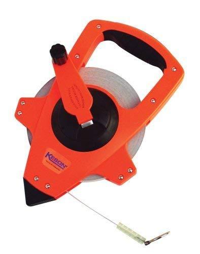 "Lufkin FE150D 1//2/"" x 150/' Engineer/'s Hi-Viz Orange Fiberglass Tape Measure 10..."