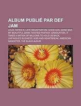 Album Publie Par Def Jam: Loud, Rated R, Late Registration, Good Girl Gone Bad, My Beautiful Dark Twisted Fantasy, Graduation