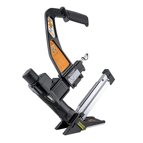 Freeman PFL618C Pneumatic 3-in-1 15.5-Gauge and 16-Gauge 2' Flooring Nailer...