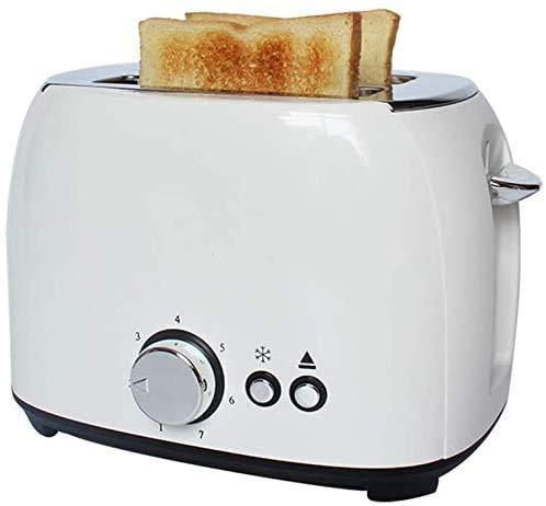 ZJN-JN Brotbackautomaten 2 Toaster, Startseite Vollautomatische Toaster Breite Schlitz, Spit-Treiber Abnehmbare Krümelschublade, kann als Geschenk lxhff verwendet Werden Küchengeräte klein