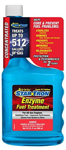 Star Tron Enzyme Fuel Treatment - Concentrated Formula 32 oz - Treats 512 Gallons, 32oz Standard Packaging