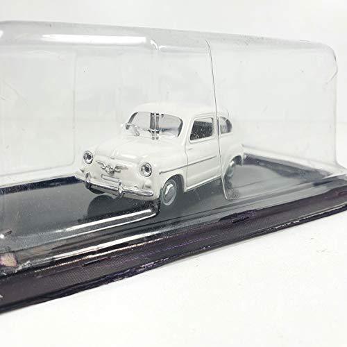 Desconocido 1/43 Auto Coche Car Seat 600 Blanco ALTAYA