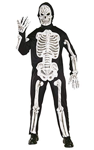 Rubie's Official Skeleton 3D Adult Halloween Costume, Mens Size Large
