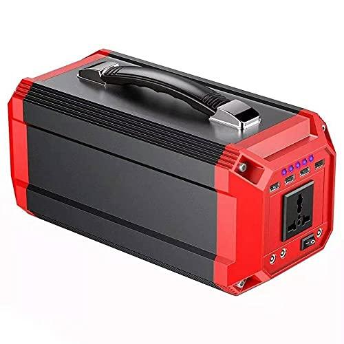 Generador portátil de 300W 73000mAh 12V-240V Generador portátil Inverter de energía Banco de energía con USB (Color : 110V US PLUG)