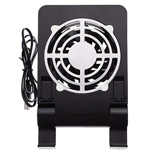 UKCOCO Almohadilla de Enfriamiento del Teléfono Móvil USB para Juegos Ventilador del Soporte del Refrigerador del Radiador Silencioso Soporte del Refrigerador de La Tableta del USB