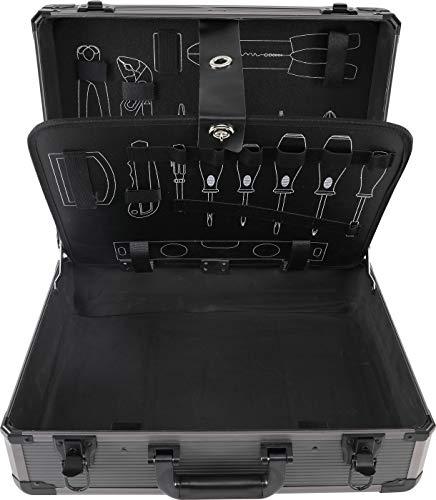 BGS 15501 | Professionele gereedschapsset in aluminium koffer | 149-delig Gevuld | afsluitbaar | gereedschapskist | gereedschapskist Lege koffer.