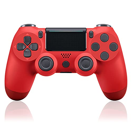 PS-4 Wireless Controller for PS-4/Slim/Pro Console with Dual Vibration Game Joystick Remote and Charging Cable (1000mAh)