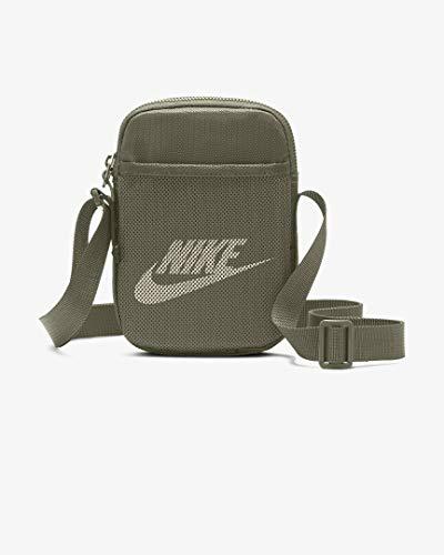 Nike Nk Heritage S SMIT Gym Bag - Medium Olive/Medium Olive/(Light Orewood Brn), MISC