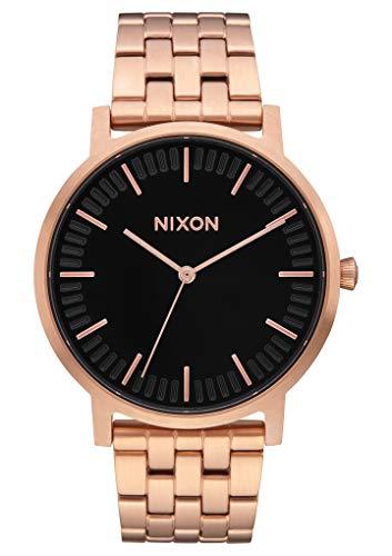 Nixon Reloj Analógico para Hombre de Cuarzo con Correa en Acero Inoxidable A1057-1932-00