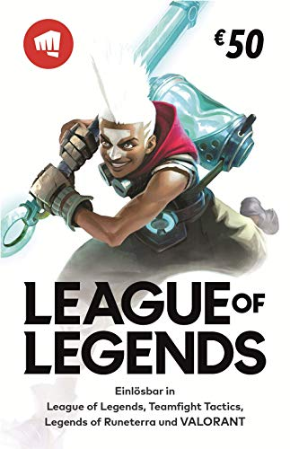 League of Legends €50 Gift Card | Riot Points