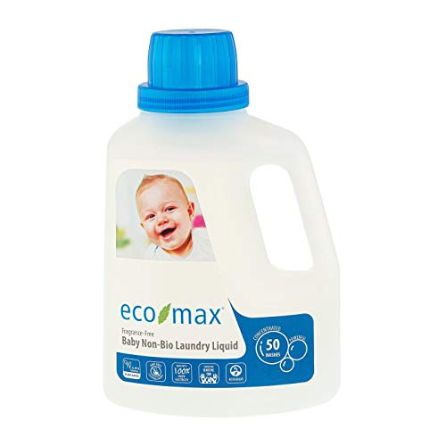 Eco-Max Baby Laundry Detergent 50 Wash - Fragrance Free 1.5Ltr