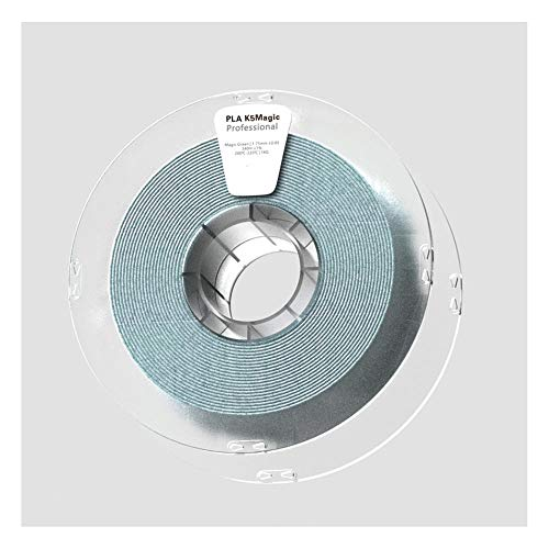 Filamento PLA K5 1,75 mm, filamento stampante 3D 1 kg, conferisce alla stampa un effetto superficiale simile alle rocce naturali.-Magic Green.