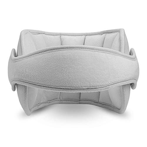 TekkPerry Baby Head Support for car seat, Carseat Head Band Strap Headrest, Stroller Car Seat Sleeping Head Support for Toddler Child Children Kids Infant (Gray)