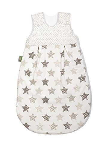 Odenwälder Babynest Jersey-Schlafsack Basic 1425 Gr. 110 cm Sterne latte