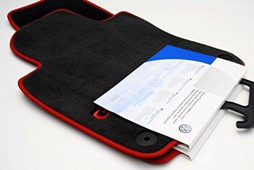 Volkswagen 1K1061277PB RYJ Fußmatten Velours GTI Textilfußmatten Stoffmatten